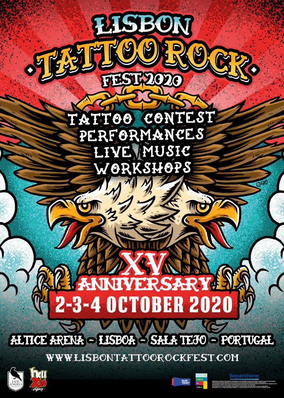 lisbon tattoo rock fest 2020